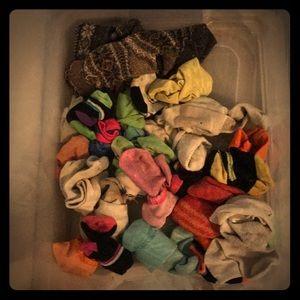 Other - Bundle of 23 socks